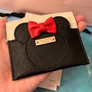 Kate Spade Minnie Mouse Card Holder/Case